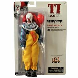 Mego Horror IT The Movie Pennywise 8 Inch Action Figure NEW