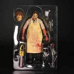 NECA- Horror Leather Face Texas chainsaw massacre Custom Act