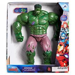 "HULK TALKING Set Marvel Toybox 14"" Action Figure Disney Stor"