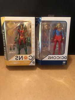 DC Collectibles Icons Supergirl  Mr. Miracle Lot Sealed Robi