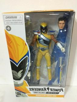 """IN STOCK! Power Rangers Dino Charge Gold 6"""" Lightning Collec"""