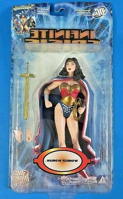 DC DIRECT Infinite Crisis WONDER WOMAN WITH CAPE ACTION FIGU