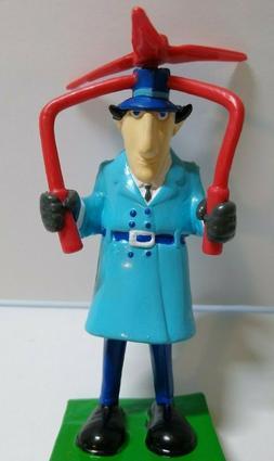 Inspector Gadget Whirlybird Toy Figure Cake Topper Plastic F