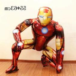 Iron man Action Figure 3D Baloon Birthday Party decorations