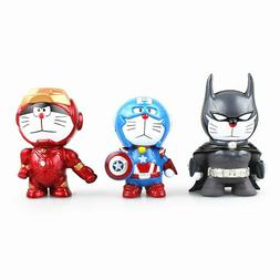 Iron Man Action Figure Toy Captain America Batman Doraemon S