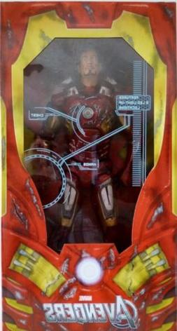 "IRON MAN BATTLE DAMAGED The Avengers 18"" inch 1/4 Scale Movi"