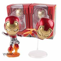 Iron Man Collection Set Cosbaby Bobble Head  PVC Action Figu