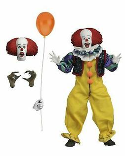 "IT  - 8"" Clothed Figure - Pennywise - NECA"