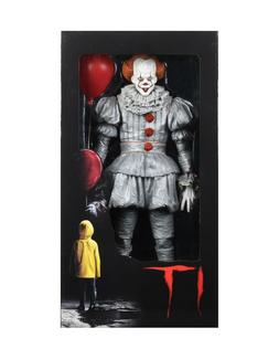IT  - 1/4 Scale Action Figure - Pennywise - NECA - New in Bo