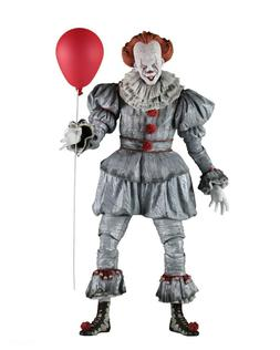 IT  - 1/4 Scale Action Figure - Pennywise - NECA