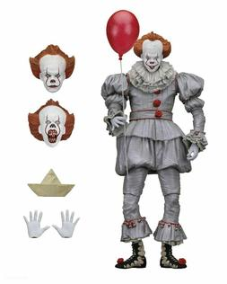 """IT - 7"""" Scale Action Figure - Ultimate Pennywise  - NECA -"""