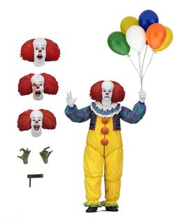 "IT - 7"" Scale Action Figure - Ultimate Pennywise  - NECA"