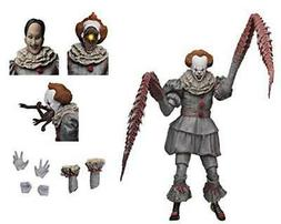 "NECA - IT - 7"" Scale Action Figure - Ultimate Pennywise Th"