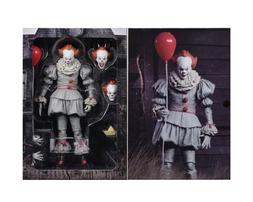 """IT - 7"""" Scale Action Figure - Ultimate Pennywise  - NECA"""