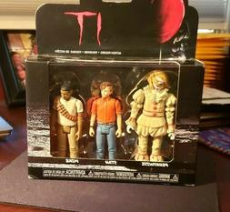 FUNKO IT ACTION FIGURE 3-PACK PENNYWISE WITH WIG STAN MIKE S