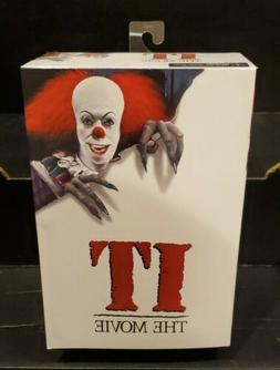 NECA IT MOVIE Ultimate Tim Curry PENNYWISE Clown  ACTION FIG