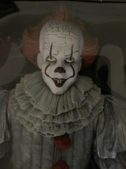 IT Pennywise 1/4 Scale Action Figure  18 Inch Authentic - NE