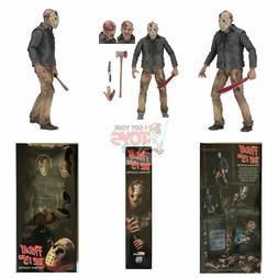 """JASON VOORHEES 1/4 SCALE Neca FRIDAY THE 13TH PART 4 18"""" Inc"""