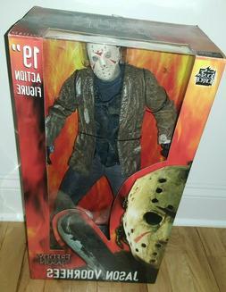 "Jason Voorhees 19"" Action Figure NECA Reel Toys Freddy VS Ja"