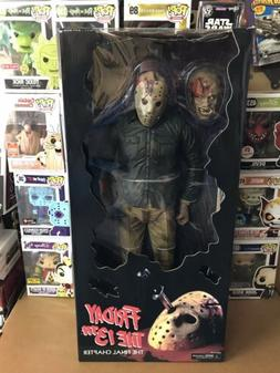 """JASON VOORHEES Friday the 13th Part 4 18"""" inch 1/4 Scale Act"""