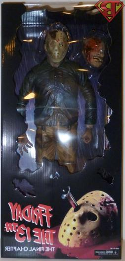 "JASON VOORHEES Friday the 13th Part 4 18"" inch 1/4 Scale Act"