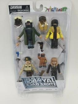 Jay and Silent Bob Strike Back MiniMates Figure Set Justice