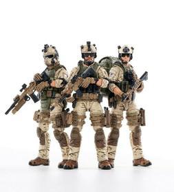 JOYTOY JJT0432 1:18 U.S.ARMY Delta Force Soldier 3pcs Action
