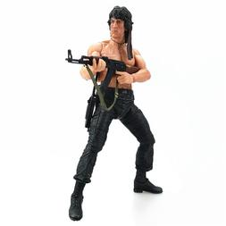 John Rambo Action Figure Sylvester Stallone NECA Real Toy Co