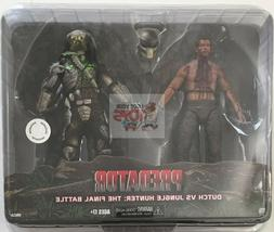 JUNGLE HUNTER vs DUTCH Neca PREDATOR THE FINAL BATTLE 2 Pack