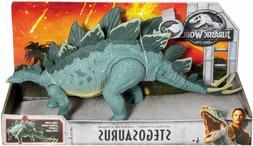 Mattel Jurassic World Action Attack Stegosaurus Action Figur