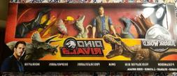 Jurassic World Dino Rivals 6 Pack 12 inch Action Figures