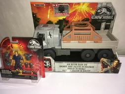 Jurassic World  Off-Road Rescue Rig Truck  New w Owen figure