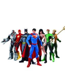 DC Collectibles Justice League 7-Pack Action Figure Box Set