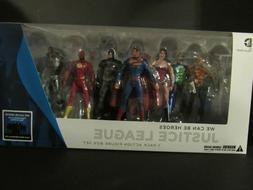 Justice League DC Collectibles 7-Pack Action Figure Box Set