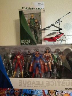 Justice League 7-Pack Action Figure Box Set - DC Comics New