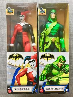 "DC Comics Justice League GREEN ARROW & HARLEY QUINN 12"" Inch"
