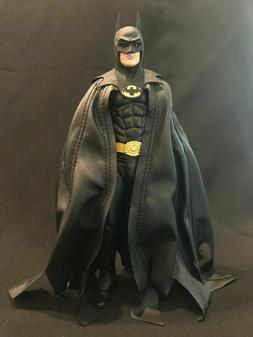 KC-BAT-DVC: Black Wired Cape for NECA DC Multiverse Mezco Ba