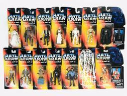 Kenner Star Wars The Power of the Force Lot- Red Card Action
