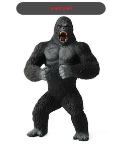 "King Kong PVC Action Figure 7.5"" Black Gorilla in Skull Isla"