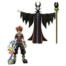 Kingdom Hearts 3 Series 1 Sora & Maleficent with Diablo Acti