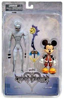 Disney Kingdom Hearts Mickey & Dusk Action Figure Gamestop E
