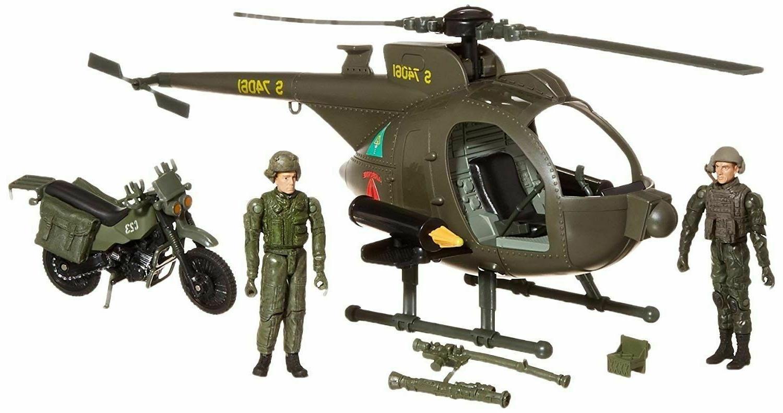 1:18 MH-6 MISSION BIRD PLAYSET JOE
