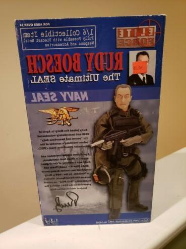 1/6 Elite Force Rudy Boesch Survivor INCH BBI BLUE