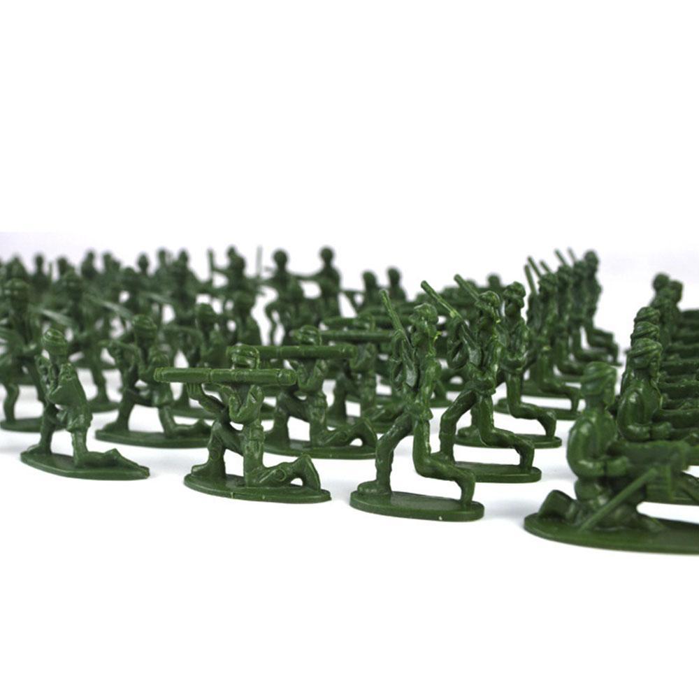 100pcs/Pack Mini Soldier <font><b>Model</b></font> <font><b>Military</b></font> Soldier Army Men <font><b>Kit</b></font> Gift <font><b>Model</b></font> For Boys