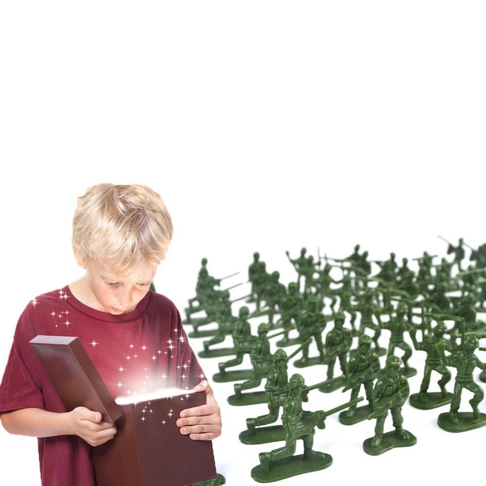 100pcs/Pack Army <font><b>Kit</b></font> <font><b>Model</b></font> Toy For Kids