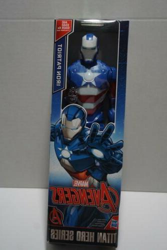 12 inch marvel iron patriot figure titan