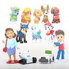 12 Pcs Paw Patrol Action Figure Toys Kids Gifts Vehicles Eve