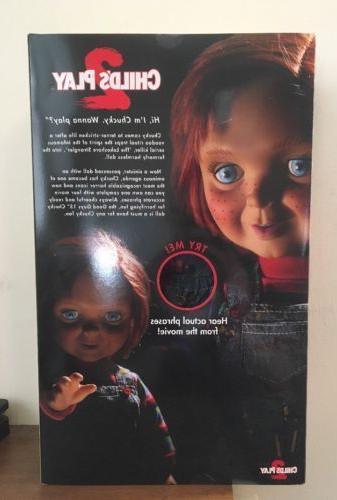 """15"""" Childs Play 2 Mega Scale Good Guys Chucky Mezco Toyz Doll"""
