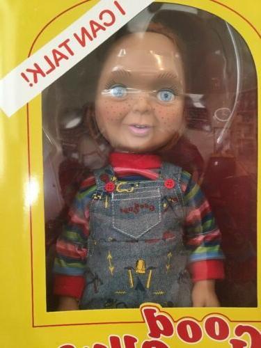 "15"" Mega Scale Talking Good Guys Chucky Doll Mezco Doll"