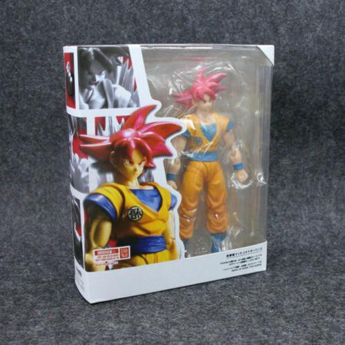 16CM Dragon Z Red Super Gokou